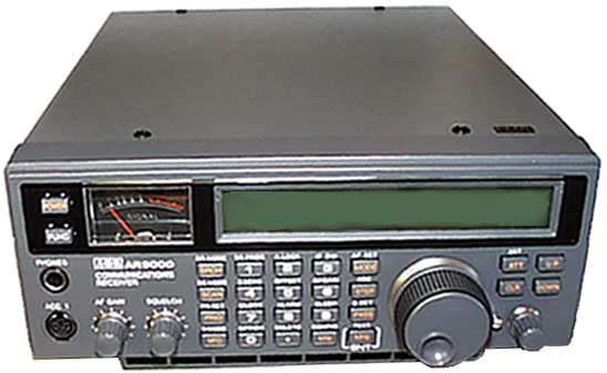 AOR AR-5000A+3 All-mode Scanner 0 01-3000 MHz + Noiseblanker