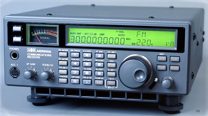 aor ar 5000a 3 all mode scanner 0 01 3000 mhz noiseblanker afc